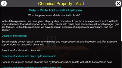 Chemical Property - Acid screenshot 1