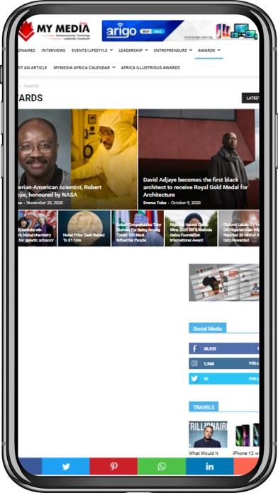 My Media AfricaScreenshot of 1