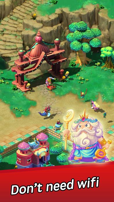 Angel Town 8- idle games screenshot 2