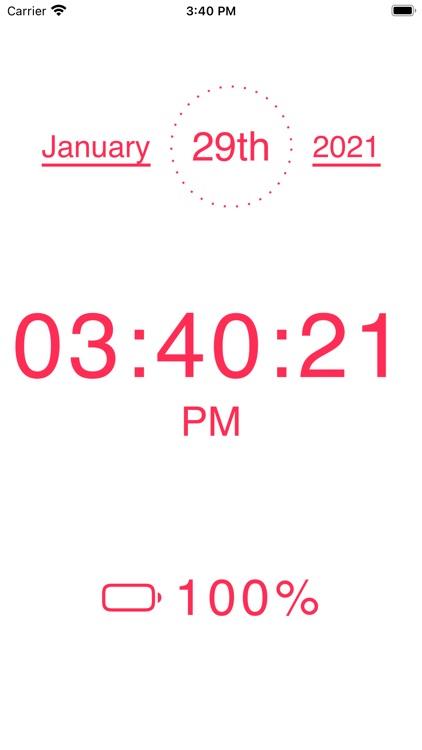 My big clock screenshot-3