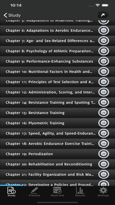 CSCS Strength Exam Prep screenshot 2