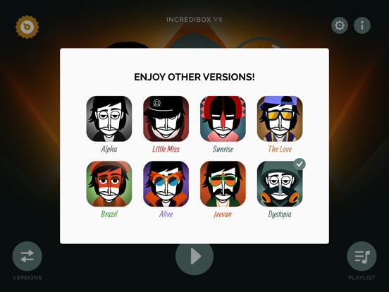 Incredibox iPad captures décran