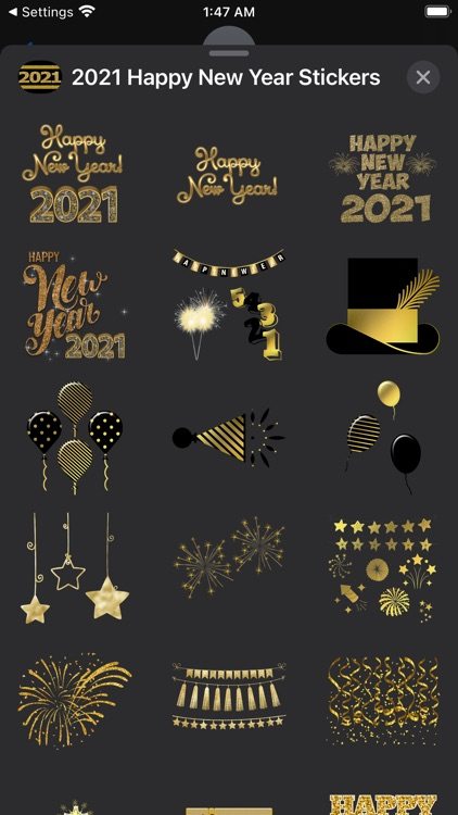 2021 Happy New Year Stickers screenshot-4