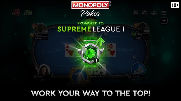 MONOPOLY Poker - Texas Holdem screenshot-5