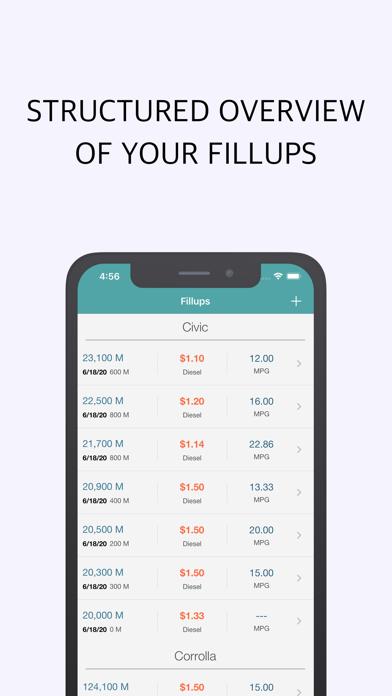 Screenshot #3 pour Fuel Cost Calculator & Tracker