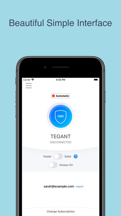 Tegant VPN - Best VPN 2021 screenshot-0