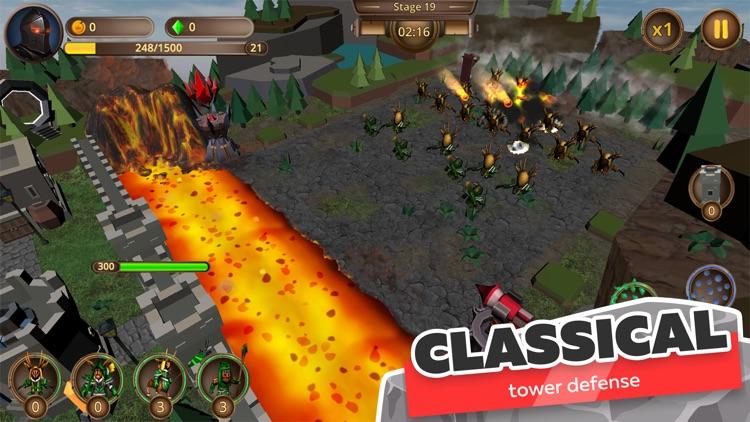 Legion of Defenders: Tower War screenshot-0