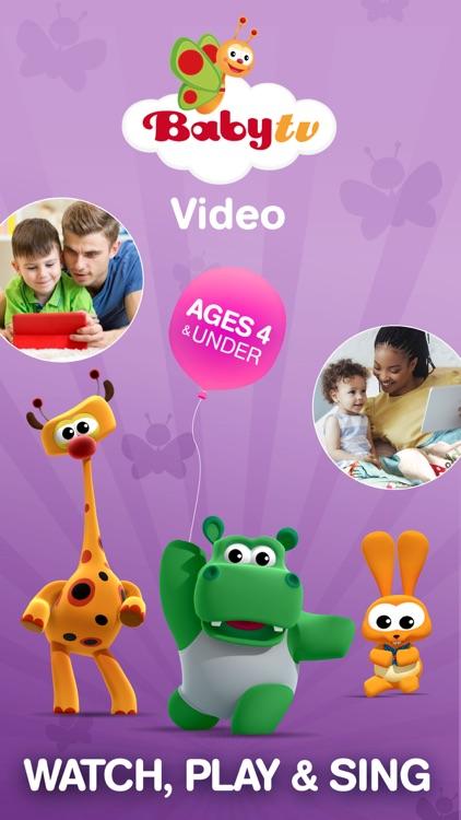 BabyTV - Baby & Toddler Videos screenshot-0