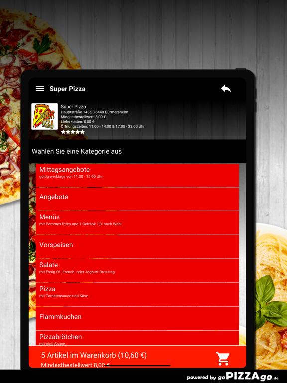 Durmersheim Super Pizza screenshot 8