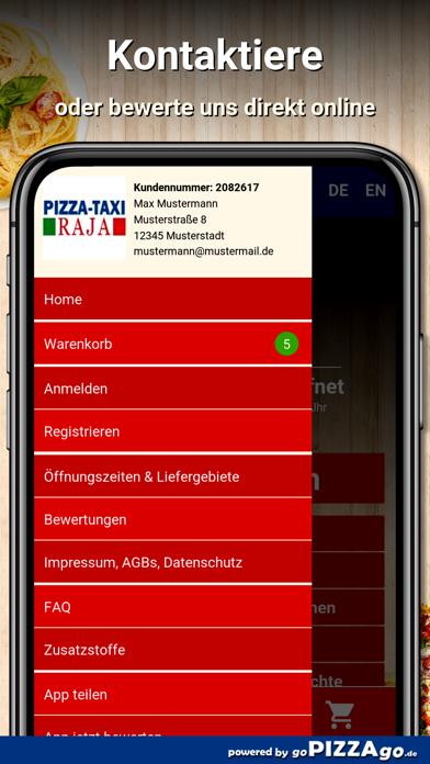 Pizza-Taxi Raja Rösrath screenshot 3