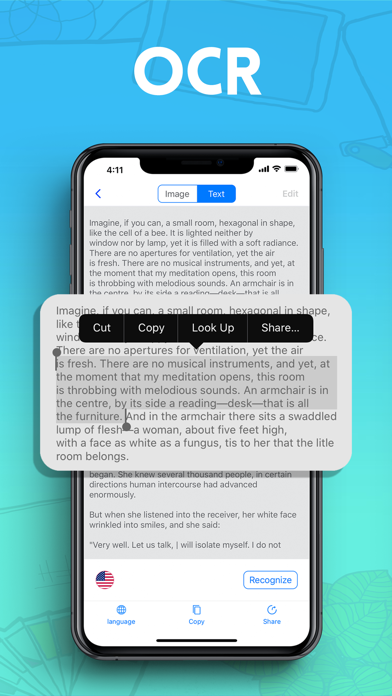 Cam Scan - PDF Scanner Pro App screenshot