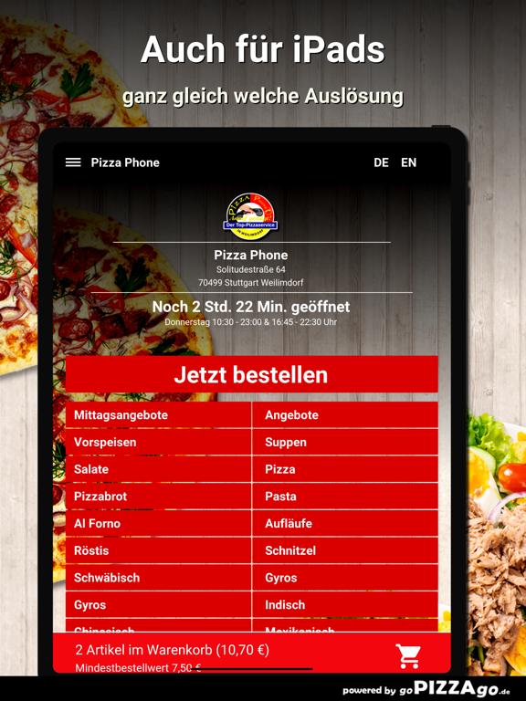 Pizza Phone Weilimdorf screenshot 7