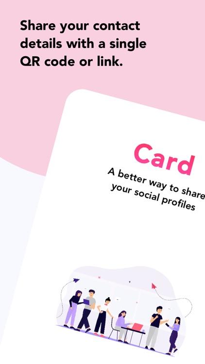 Card - Share Social Profiles