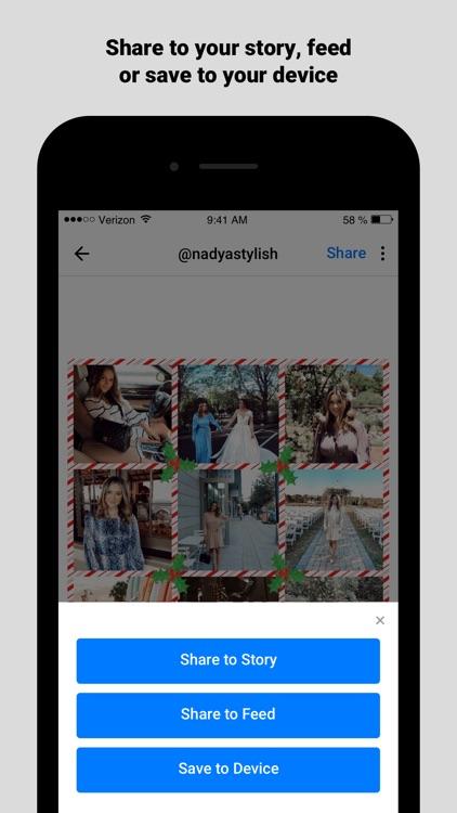 Best Grid for Instagram screenshot-4