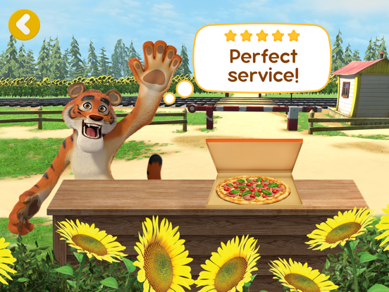 Ipad Screen Shot Masha and the Bear Pizzeria! 8