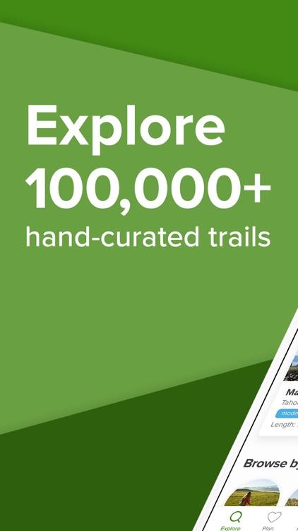 AllTrails: Hike, Bike & Run screenshot-0
