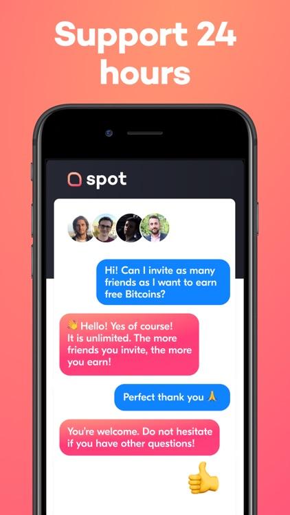 Buy Bitcoin - Spot Wallet app screenshot-7