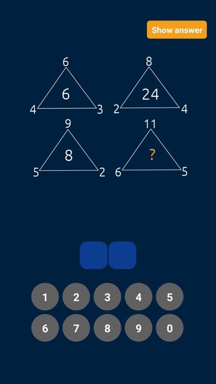 Math Puzzles & Riddles Game screenshot-6
