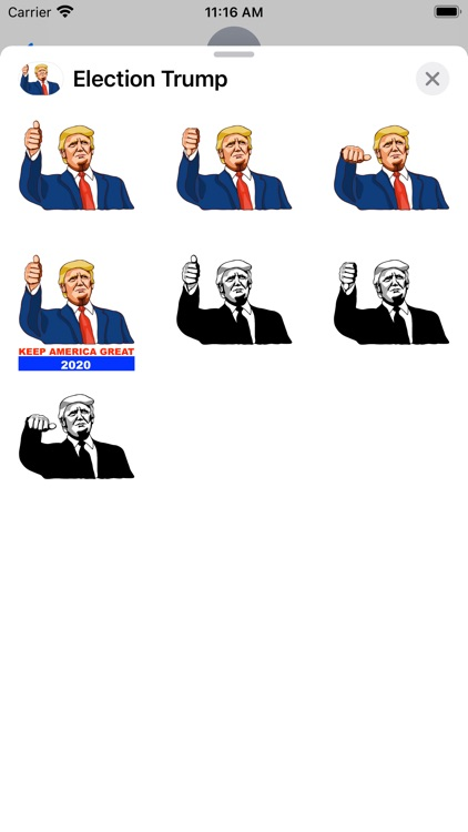Election Trump Pack