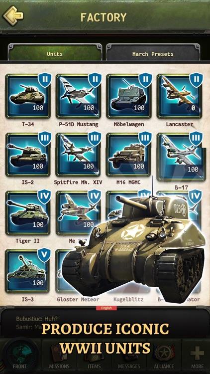 World at War: WW2 Strategy MMO screenshot-5