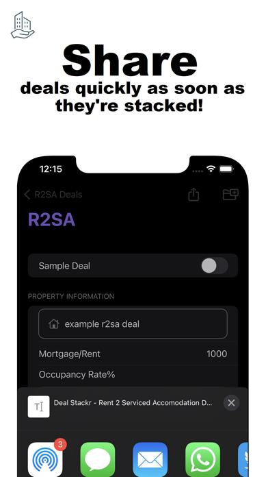 Screenshot of Deal Stackr App
