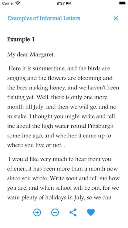 English Letter Writing screenshot-3