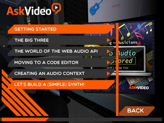Web Audio Explore Course screenshot 6