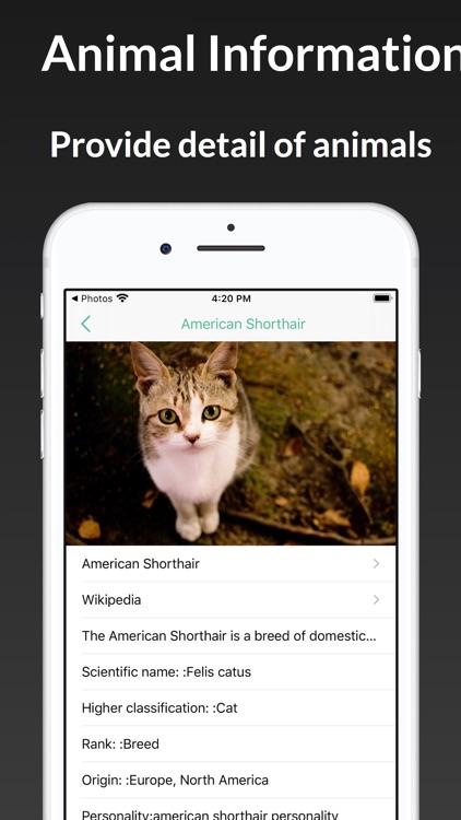 ianimal - animal Identifier