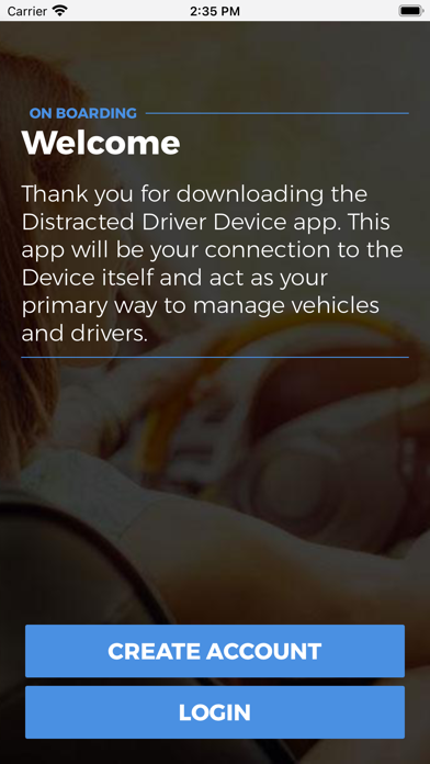 DDD Distracted Driving Device screenshot 1
