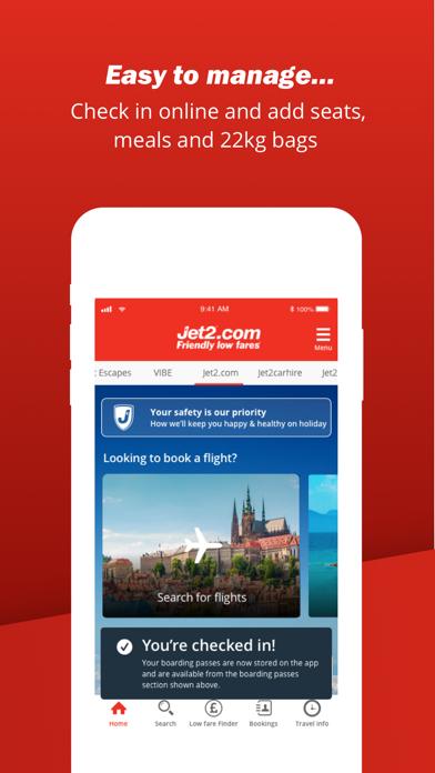 Jet2.com - Flights Travel App screenshot four