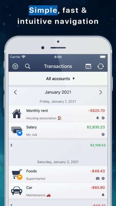 MoneyStats - Бюджет и финансыСкриншоты 3