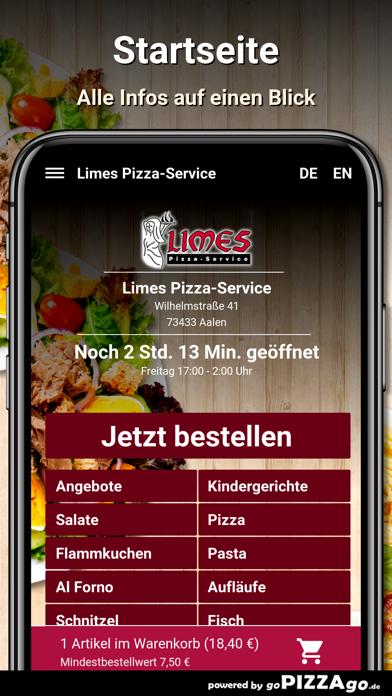 Limes Pizza-Service Aalen screenshot 2