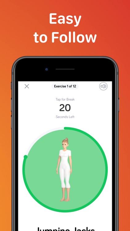 7 Minute High Fitness Work Out screenshot-6