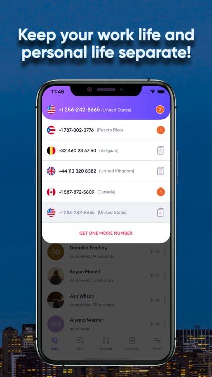 GSM+ Second Phone Number screenshot-7