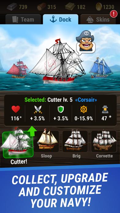 Pirates & Puzzles - PVP League screenshot 2