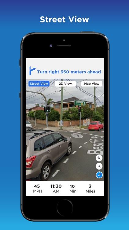 GPS Navigation & City Traffic screenshot-3