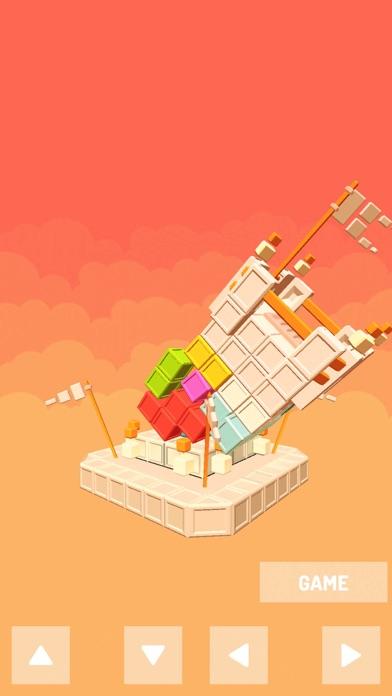 Castle Puzzle tower block screenshot 2