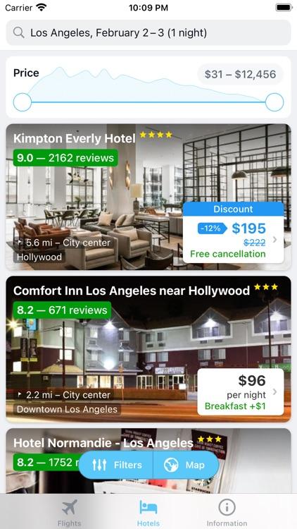 iTraveler - flights and hotels screenshot-4