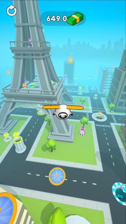 Sky Glider 3D screenshot-3