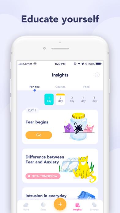Breeze: mood tracker, diary Screenshot