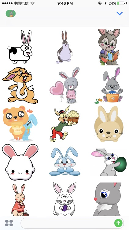 兔子贴纸 screenshot-2
