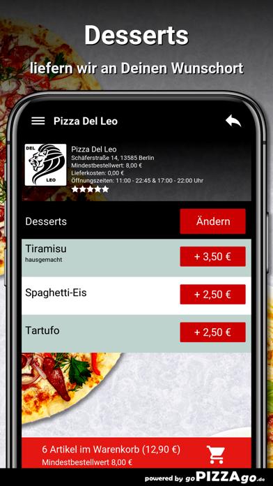 Pizza Del Leo Berlin screenshot 6