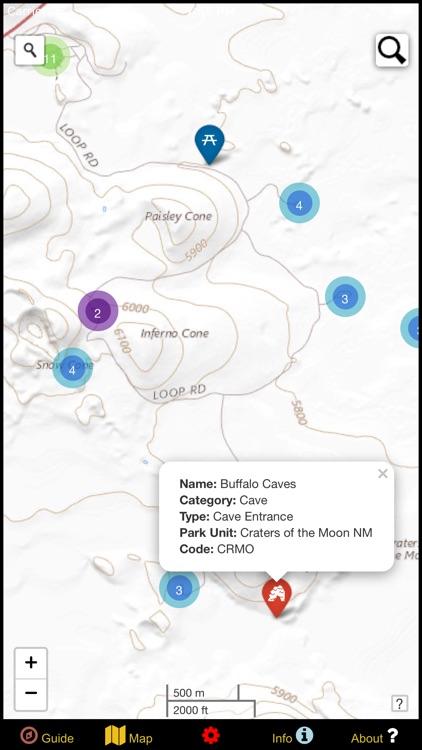 US National Parks Map & Guide! screenshot-8