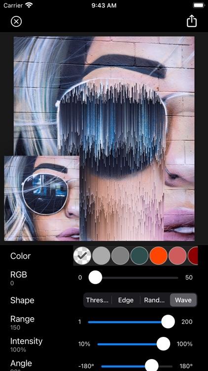 Glitch Fx - Pixel Sorting screenshot-5