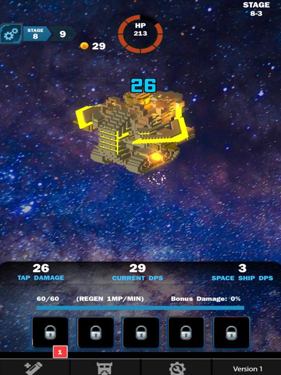 Idle Sci-Fi Battle screenshot 4