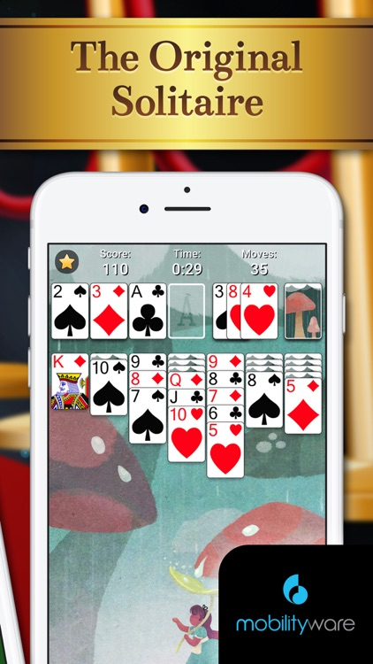 Solitaire by MobilityWare+ screenshot-4