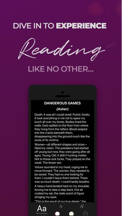 Flamingo Fiction - Stories Screenshot