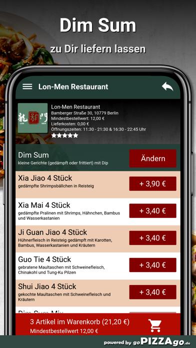 Lon-Men Restaurant Berlin screenshot 4