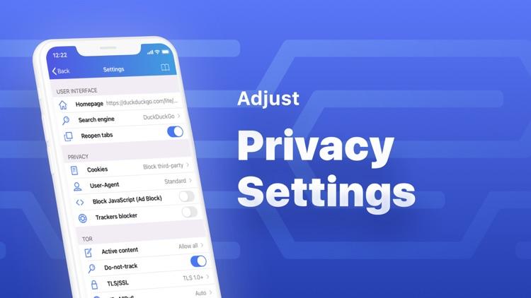 VPN + TOR Browser Private