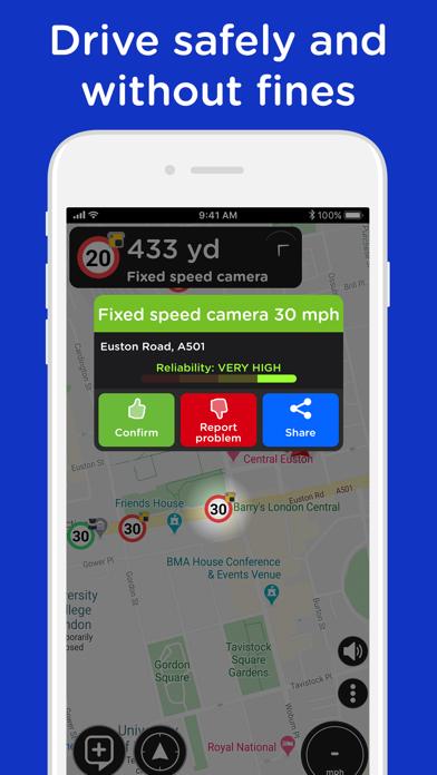 Radarbot Pro Speedcam Detector Screenshots